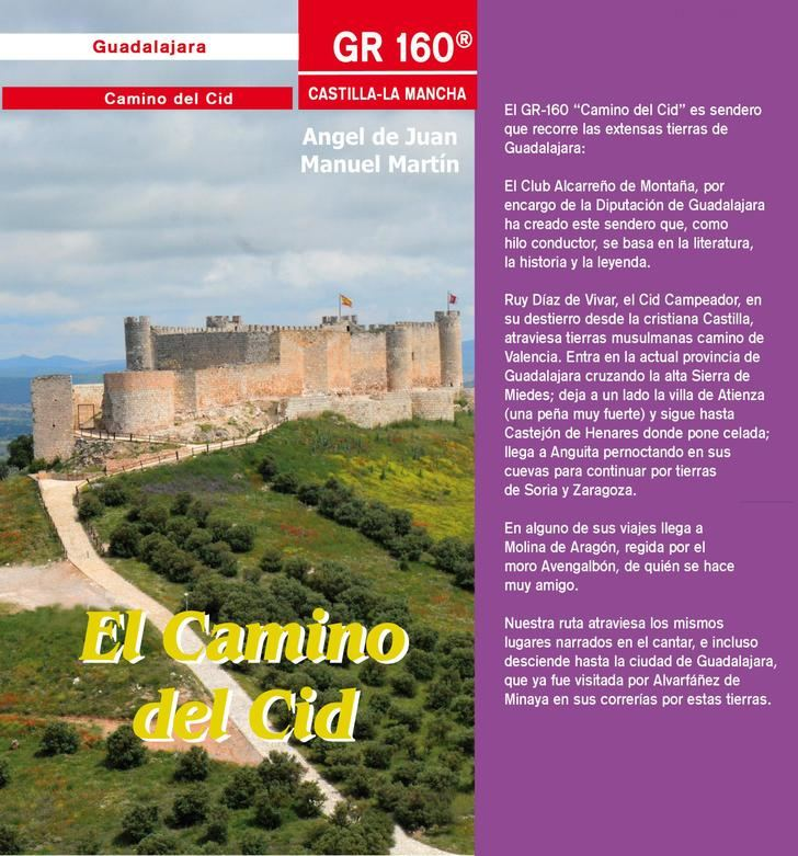 La Diputación reedita la Guía senderista del Camino del Cid a su paso por Guadalajara