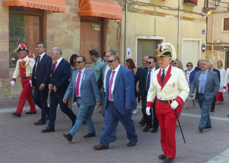 Primera visita institucional del presidente de la Diputación, José Luis Vega, a Molina de Aragón