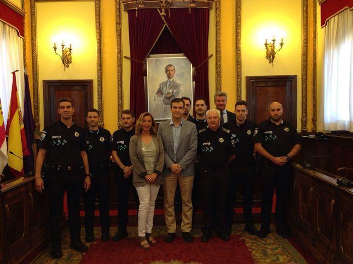 Desde este lunes hay seis nuevos policías locales prestando servicio en Guadalajara